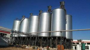 chemical storage silos